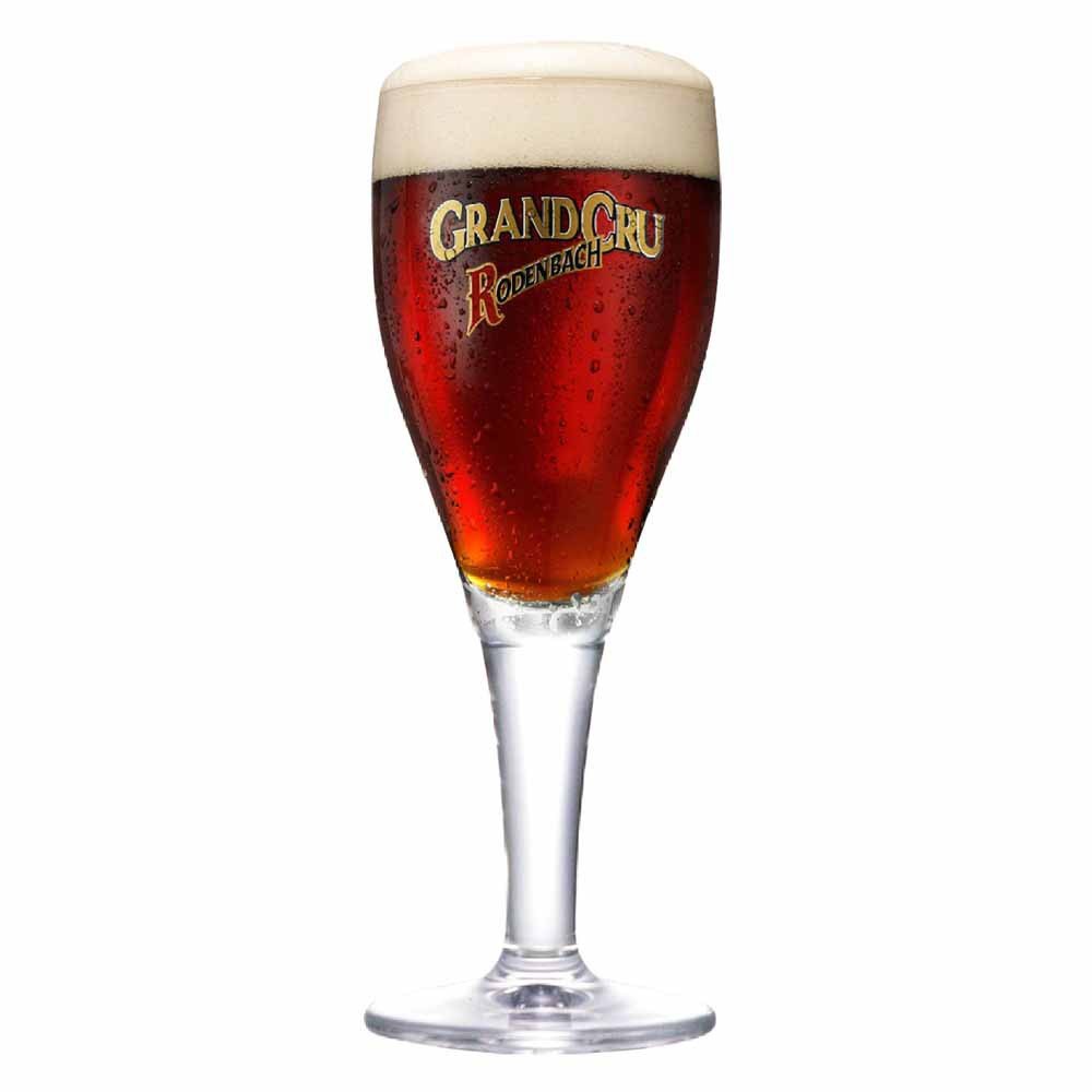 Taça de Cerveja Rótulo Frases Grandcru Rodenbach Cristal 435ml