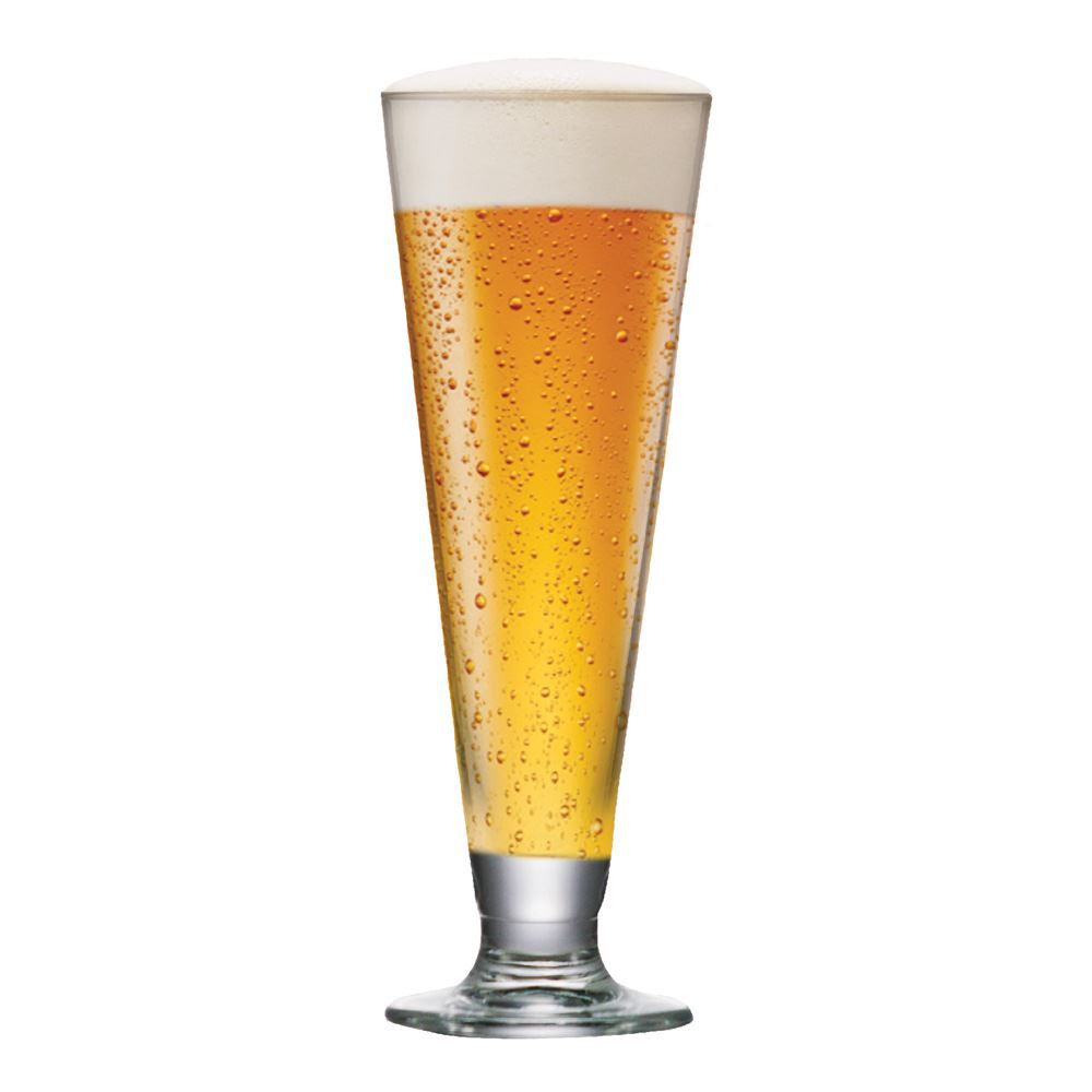 Taça de Cerveja Tulipa Reta Cristal 300ml