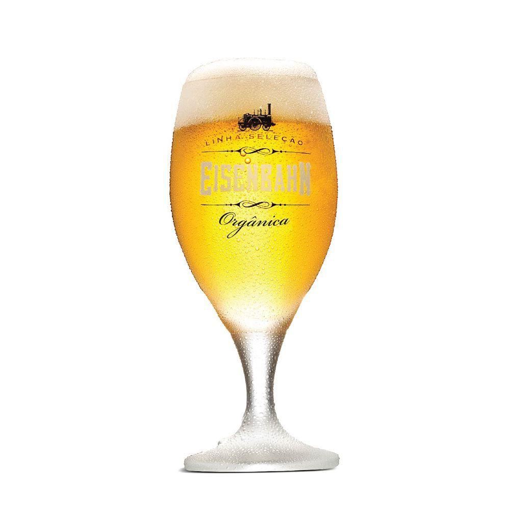 Taça De Cristal Para Cerveja Eisenbahn Orgânica De 400ml