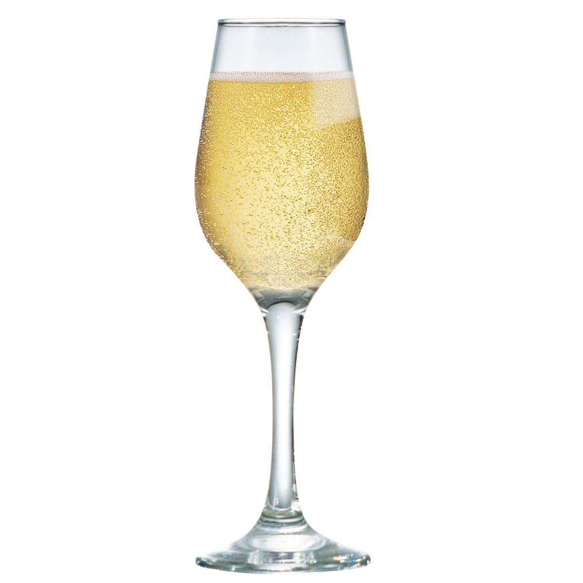 Taça de Vidro Akron Champagne 240ml (Caixa com 24 unidades)