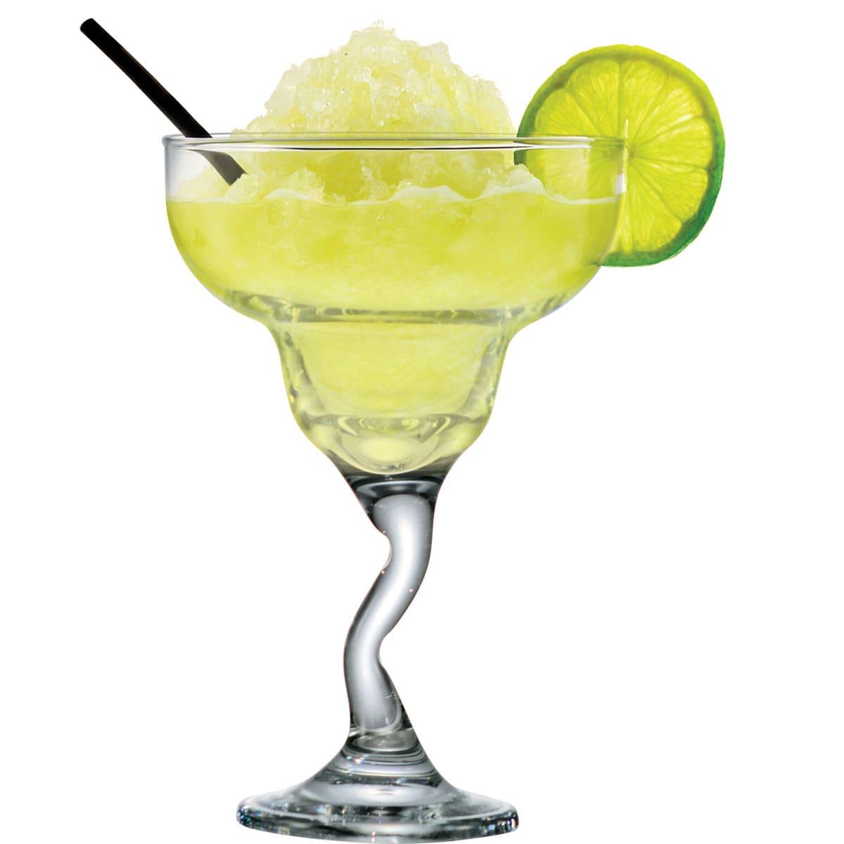 Taça de Vidro Margarita Twister 225ml (Caixa com 24 unidades)