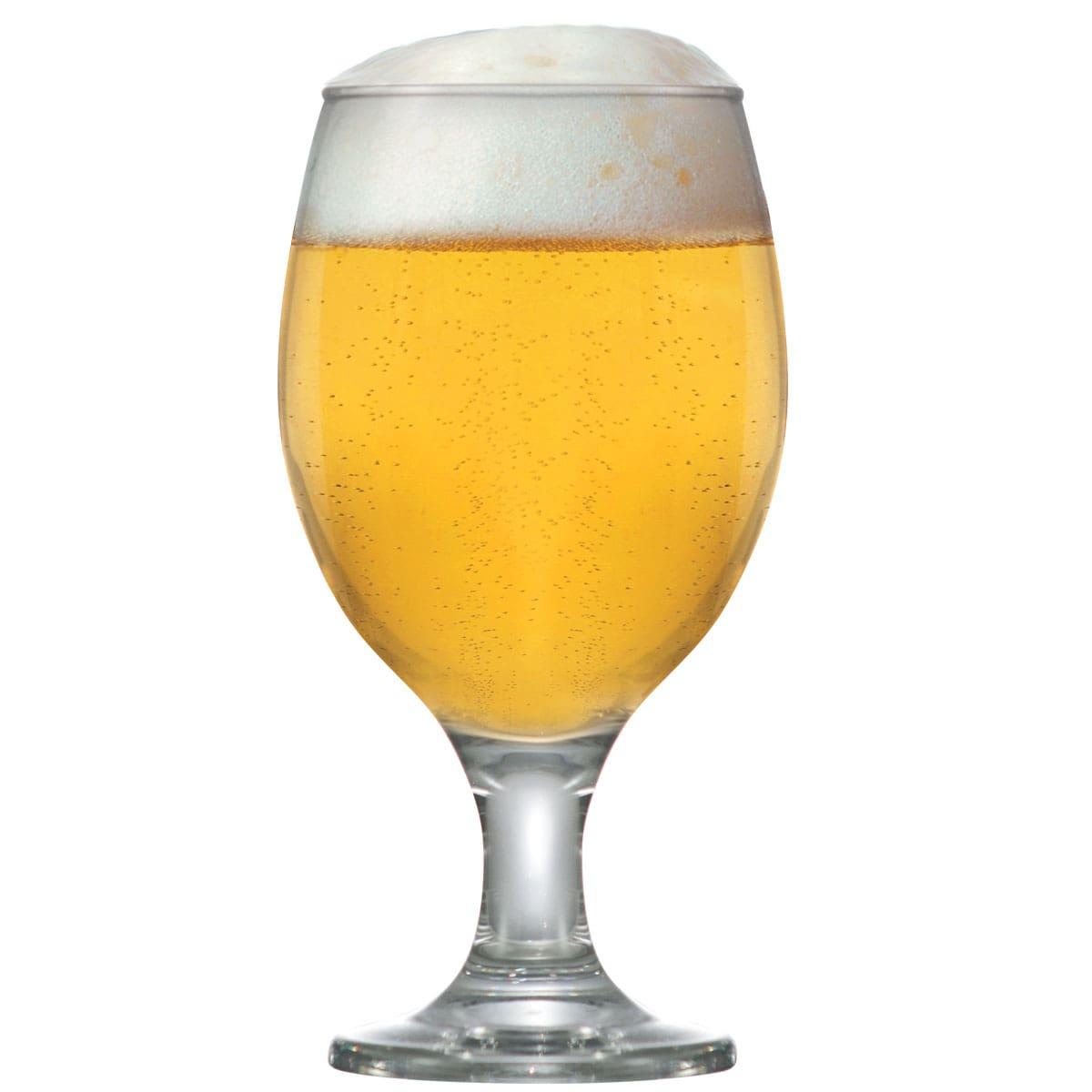 Taça de Vidro Roma Cerveja 400ml R$9.83 a unid. (Caixa com 24 unidades)