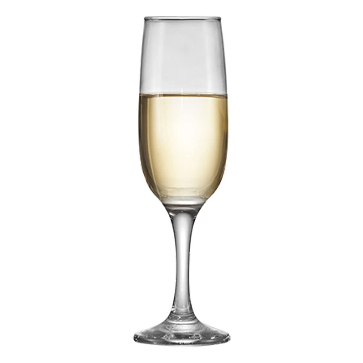 Taça de Vidro Roma Champagne 215ml R$9.33 a unid. (Caixa com 24 unidades)