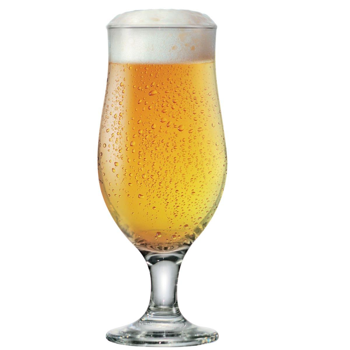 Taça de Vidro Royal Beer 330ml R$9.33 a unid. (Caixa com 24 unidades)