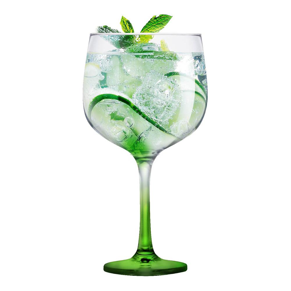 Taça Gin de Vidro 650ml Ideal p/ Tanqueray Beefeater Bombay
