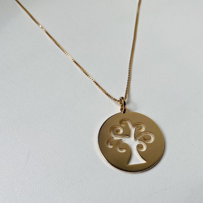 Colar Árvore Ouro
