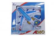 Aviao De Plastico com luzes e som - Hj-165 Fenix