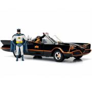 Batmobile 1966 com Figura Batman Escala de Tamanho 1 por 24 Jad98259 California