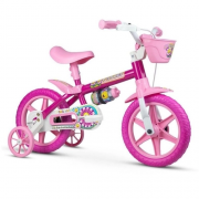 Bicicleta Aro 12 Flower Ref.60038 Nathor