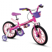 Bicicleta Top Girls Aro 16 Ref. 10103/60010 Nathor