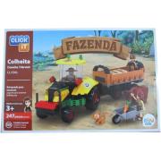 Blocos De Montar Brinquedo Colheita Da Fazenda 247 pcs Cl-Fz02 Sertic