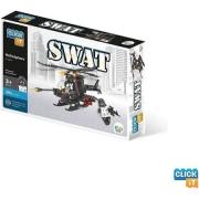 Blocos De Montar Click It Helicóptero Swat 202 Peças Cl-Sw01 Sertic