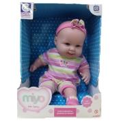 Boneca De Vinil Bebês Fofinhos Menina Miyo - 2247 Cotiplas