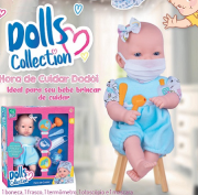 Boneca Hora De Cuidar Dodoi Ref.432 Super Toys