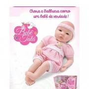 Boneca Tata Chora de Verdade Bebe Real - 785 Sidnyl