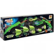 Brinquedo Arco E Flecha 3 Flechas Arqueiro Verde - Dmt5910 Dm Brasil