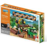 Brinquedo Blocos De Montar Com 274 peças Construção Floresta Cl-Ct04 Sertic