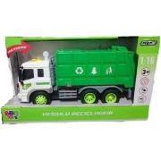Caminhão De Reciclagem Com Som E Luzes Realista R2929 Bbr
