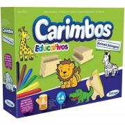 Carimbos Educativos Animais Selvagens 5079.8 - Xalingo