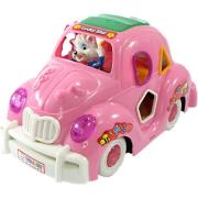 Carro Musical Fusca Rosa Ref.813Lx