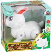 Coelhinho Musical Anda E Pula - a pilhas  - 6304 Braskit