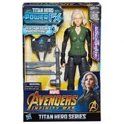 Figura de Ação - Disney - Marvel - Vingadores - Guerra Infinita - Titan Hero - Viúva Negra - Hasbro