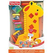Fisher Girafa Peek A Blocks Ref. B4253 Mattel