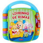 Fisher Price Livrinho de Rimas - Aprender e Brincar CDH62 - Mattel