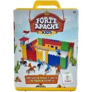 Forte Apache Kids - Maleta Batalha Infantil - Peças Coloridas - 0054 Gulliver