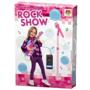 Guitarra com Microfone Pedestal ROCK SHOW - Dmt5893 Dm Brasil