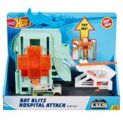 Hot Wheels City Bat Blitz Hospital Attack Playset Ref. Gjk90