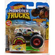 Hot Wheels Monster Trucks Die-Cast Vehicle Ref.Gjd97 Mattel