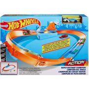 Hot Wheels Rapid Raceway Champion Play Set Ref.Gjm75 Mattel
