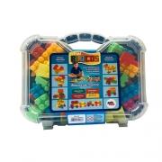 Kit blocos maleta 72 peças - 1278 Pakiplast