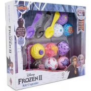 Kit Comidinhas Cupcake Frozen Ref.038829 Toyng