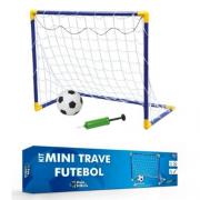 Kit Mini Trave Futebol Desmontável - 19036.1 Pais E Filhos