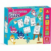 Kit Pintura Club Shark Brincadeira De Criança