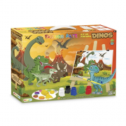 Kit Pintura Dinos Ref.347 Junges
