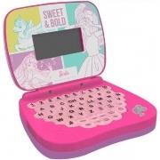 Laptop Barbie Bilíngue Infantil 1812 - Candide