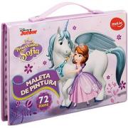 Maleta De Pintura Infantil Princesa Sofia 72 Peças - 30735 Molin