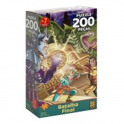 Quebra Cabeça 200 Peças Batalha Final Ref .03569 Grow