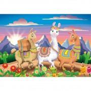 Quebra Cabeça 30 Peças Lhamas Ref.03754 Grow