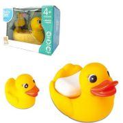 Kit para Banho Mãe Pata e seu filhote - Amarelo - Bee Toys