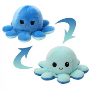 Pelúcia Polvo Humor Azul Escuro E Azul Claro - 1307 Mury Baby