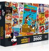 Qebra Cabeça 2000 Peças Mickey Mouse Posters 2428 Toyster