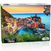 Quebra Cabeça 1000 Peças Itália 0963.1 Pais e Filhos