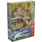 Quebra Cabeça 1000 Peças Outono Na America Ref.03969 Grow
