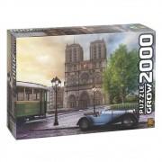 Quebra Cabeça 2000 Peças Catedral De Notre Dame Ref.  3745 Grow