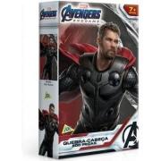 Quebra-Cabeça - 200 Peças - Capitão América e Thor - Ref.2165 Toyster