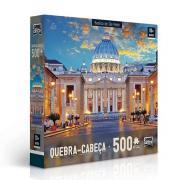 Quebra Cabeça 500 Pcs Basilica De S Pedro Ref. 2305 Toyster